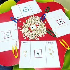 Some maths busy learning focusing on one more and one less☺️ View all 3 comments Maths Eyfs, Eyfs Classroom, Eyfs Activities, Kindergarten Math, Teaching Math, Preschool Activities, Year 1 Maths, Early Years Maths, Early Years Classroom
