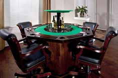 Poker table pottery barn i like the table and chairs for Pottery barn poker table