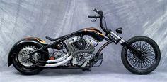 Lefty Bros Choppers, Custom bike    Ride Wright Wheels #74