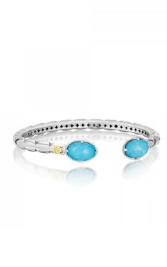 Buy Tacori Bracelet at Yelton Fine Jewelers. As an authorized retailer, all of our Tacori products are backed with a manufacturer warranty. Fashion Rings, Fashion Jewelry, Women Jewelry, Ring Necklace, Turquoise Bracelet, Fine Jewelry, Gemstone Rings, Quartz, Jewels