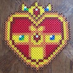Sailor Moon Cosmic Heart perler bead sprite by nerdglaze - Alex Icrbt
