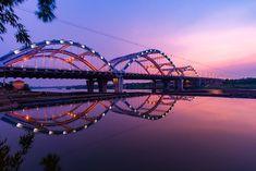Free Pictures, Free Images, Hanoi Vietnam, Sydney Harbour Bridge, Professional Development, Vacation Trips, River, Sunset, Continuing Education