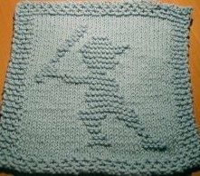 Hey Batter Batter Dishcloth Pattern