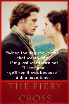 Jamie and Claire Quote from The Fiery Cross (Outlander #5)