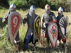 Early period Norman kits for the SCA,