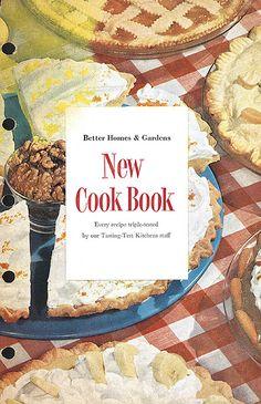 Schönes Vintage Kochbuch! - 1953 New Cook Book Cover