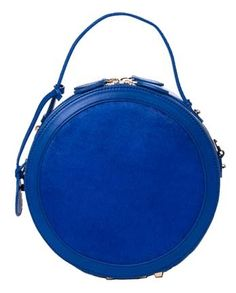 A great circle handbag with a handle and shoulder strap! – Blue Belle