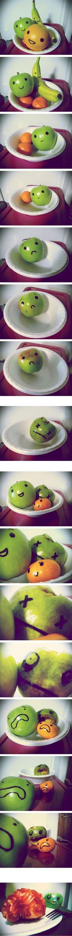 Fruit Zombies