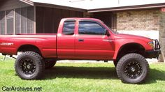 red toyota tacoma | red toyota tacoma lifted | Toyota