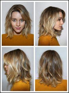 18 blonde halflange kapsels die de aandacht wel trekken! - Pagina 2 van 18 - Kapsels voor haar