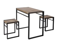 ⚜️ Add charm to your home with FIVEGIVEN 3 Piece Dining Set Small Kitchen Table Set for Table and 2 Chairs Dining Set, Rustic Industrial Sonoma Oak from Bistro Table Set, Pub Table Sets, Table And Chair Sets, Small Kitchen Table Sets, Dining Table In Kitchen, Kitchen Ideas, Kitchen Chairs, Breakfast Table Setting, 3 Piece Dining Set