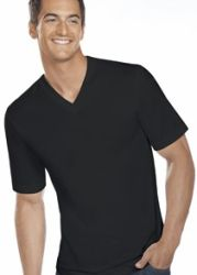 Jockey Men's Slim Fit V-Neck T-Shirt 3-Pack for $8  free shipping #LavaHot http://www.lavahotdeals.com/us/cheap/jockey-mens-slim-fit-neck-shirt-3-pack/130205