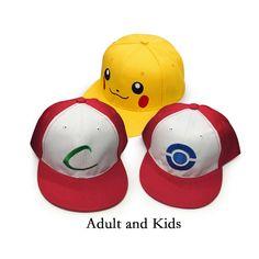 Pokemon Cap (3 Models) //Price: $ 11.95 & FREE shipping // #nintendo #pikachu #pokemonx #pokemony #pokeball #pokemongo #pokemonxy #pokemontrainer