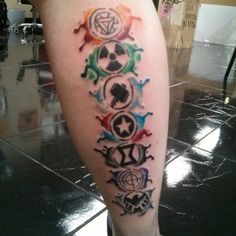 marvel tattoos - Google Search