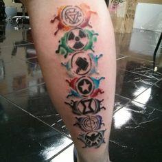 marvel tattoos - Google Search