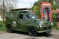 Classic Cars British, Classic Trucks, Van Car, Road Transport, Uk History, Morris Minor, Summer Barbecue, Commercial Vehicle, Retro