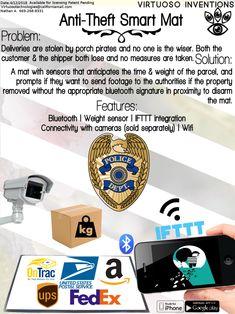 Anti-Theft Smart Mat
