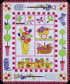 Amy Bradley Garden-Quilt-Pattern