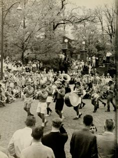 Athena, 1959. J-Prom started in the spring of 1959 and was one of the biggest weekend events at Ohio University. :: Ohio University Archives