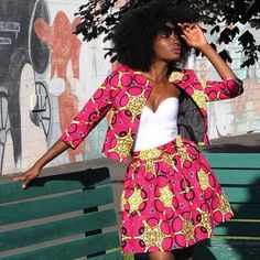 Save on the Waju Skirt and select Yetunde Sarumi items at zuvaa.com • plus enjoy FREE shipping in the US only