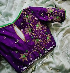 Pattu Saree Blouse Designs, Half Saree Designs, Blouse Designs Silk, Dress Neck Designs, Blouse Patterns, Kids Blouse Designs, Hand Work Blouse Design, Simple Blouse Designs, Simple Designs