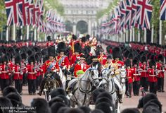 The Queen's 90th birthday parade/Trooping the Colours. June 11, 2016.