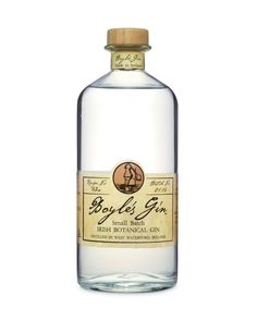 Boyle's Gin is distilled in west Waterford