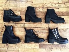 I need some chunky boots, I just dont know what to wear them with :(