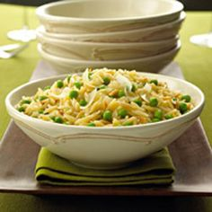 Orzo Risotto with Peas