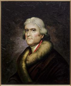 Lot: JOSETH SHARN PAINTING THOMAS JEFFERSON ATER PEALE, Lot Number: 1085, Starting Bid: $150, Auctioneer: Austin Auction Gallery, Auction: DAY 2, ANTIQUES, FINE ART, JEWERLY, LINKE, Date: April 2nd, 2017 CDT