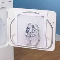 Household Essentials 135 Polyester Sneaker Wash and Dry Bag for Laundry Machines - White Diy Cleaning Products, Cleaning Hacks, Cleaning Shoes, Cleaning Sneakers, Cheap Gifts For Women, Ideias Diy, Laundry Hacks, Laundry Rooms, Laundry Solutions
