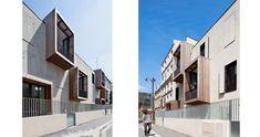 :) ...  Moussafir architects. Logement sociaux + ateliers d'artistes à Paris.