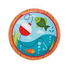 Little Fisherman Dinner Plates