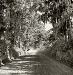deep south...the way it was.reminds me of driving to my grandparents house.