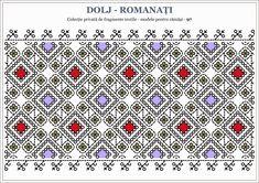 Semne Cusute: Romanian traditional motifs - OLTENIA - Dolj Romanati