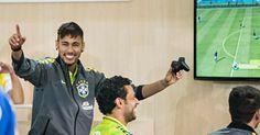 Neymar é o terceiro melhor jogador do Fifa 17