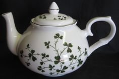 6 5in Total Height William James Farm Yard Teapot Cobalt