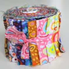"Jelly Roll Fassett  - 20 Stk  2,5"" x 43"" - aq280 von planet-patchwork auf DaWanda.com"