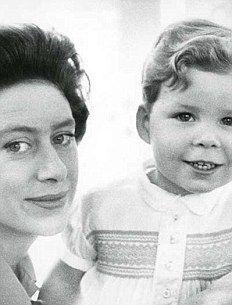 Princess Margaret and her son, Viscount Linley (David Albert Charles Armstrong-Jones).