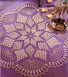 Hooked on crochet: Paninho bege
