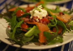 Smoked Trout & Pancetta Salad