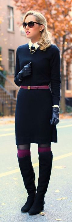winter: Like A Pilgrim by The Classy Cubicle #teacherclothes #winter #officewear