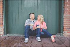 Depot Town Engagement Photography Inspiration | E Schmidt Photography | Ann Arbor Wedding Photographer