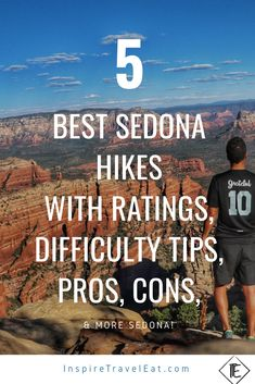 Pin on Travel Mar 2020 - The best hikes in Sedona from basically a local! Arizona Road Trip, Sedona Arizona, Arizona Travel, Travel Route, Travel Usa, Places To Travel, Train Travel, Sedona Hikes, Vacation Deals