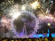 New Year Eve Fireworks  –  Events to Watch Out For in January 2014 in London