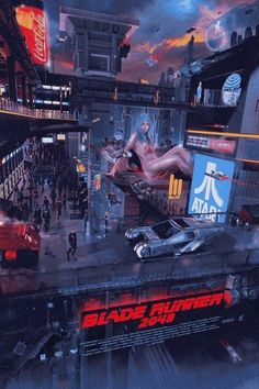 Blade Runner 2049 poster by Chris Skinner Cyberpunk 2077, Cyberpunk City, Cyberpunk Aesthetic, Neon Aesthetic, Cyberpunk Fashion, Blade Runner Art, Blade Runner 2049, Science Fiction, Fiction Movies