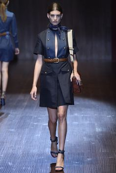 that Seventies feeling…Gucci ss15 http://anoteonstyle.com/that-seventies-feeling/