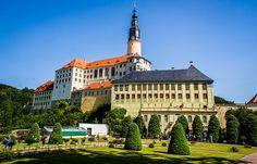 Schlossanlage Weesenstein, Sachsen. Alemania