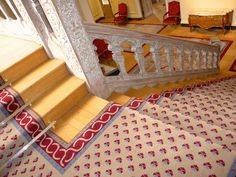 Stark recreation of the original fleur de lye design in the French Embassy. Interior Design Projects, Home Decor, Carpet, Fabric