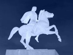 Statue of Alexander the Great - Thessaloniki - Macedonia, the ancient kingdom of northern Greece - #macedonia2014 www.history-of-macedonia.com